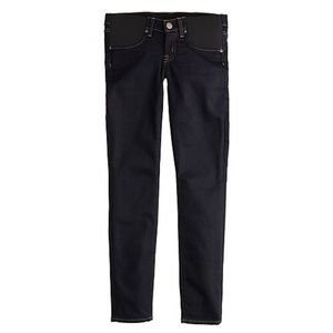 Maternity toothpick jean in classic rinse size27